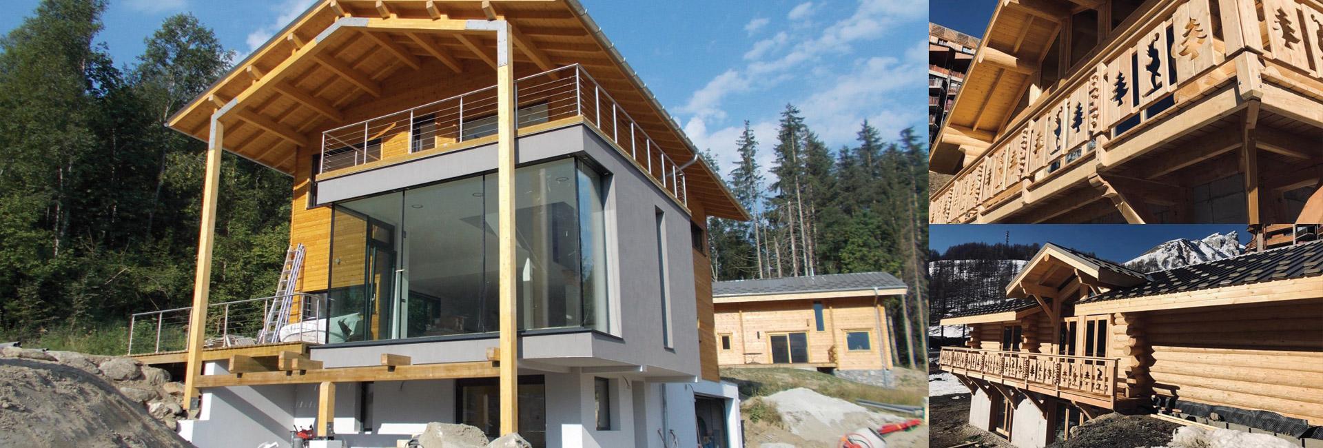 Construction Maison Et Chalet Bois A Chamonix Haute Savoie 74